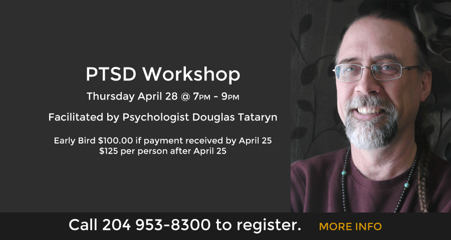 PTSD Workshop October 22 @ 7PM - 9PM
